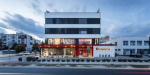 Administrativna budova Casca, Ivanska cesta, Bratislava, Slovensko