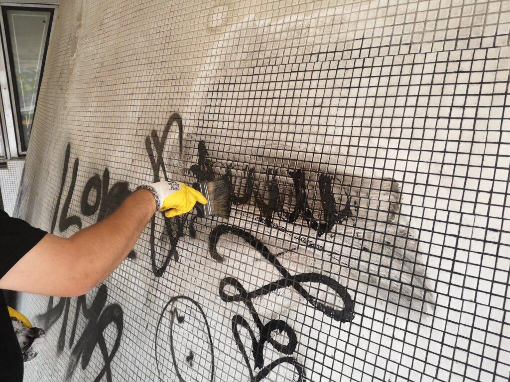 odstraňovanie graffiti